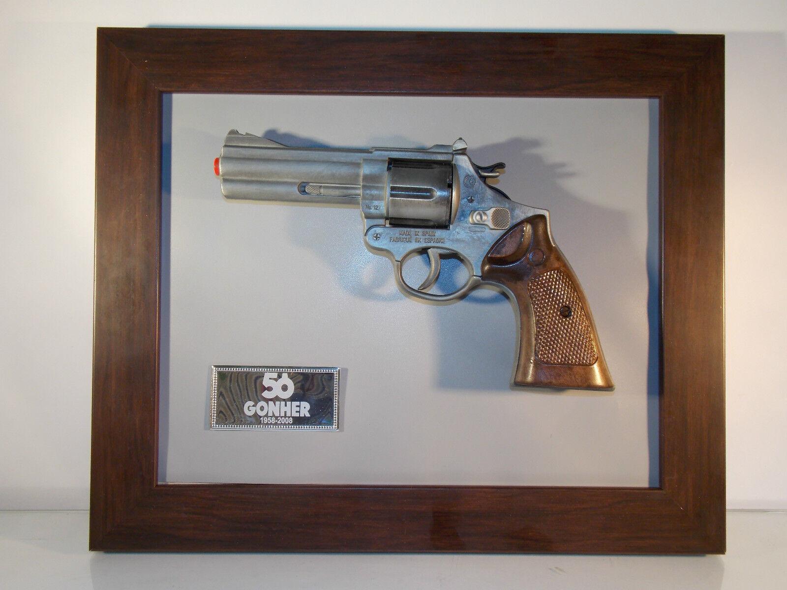 Juguete antiguo  pistola  Magnum gonher 127  ORIGINAL años 70    antique toy