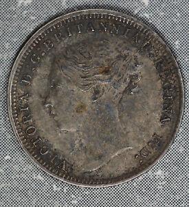 1873-Three-Pence-Grear-Britain-Silver-Coin-Nice-original-coin