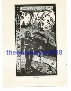 Nave-Nave-Fenua-Terre-Delicieuse-Paul-Gauguin-Book-Illustration-Print-1963