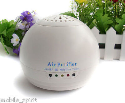 Mini Room Home Household Air Purifier Ionizer Air Clearner