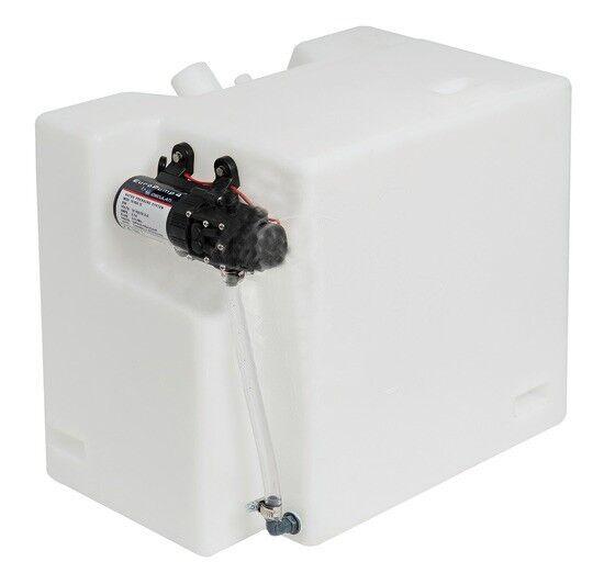 Wassertank Frischwasser Tank 32 Liter mit Pumpe Autoklav Autosaugpumpe Europump4