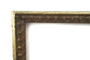 Antique-19th-C-Victorian-Picture-Frame-Gold-Gilt-Gesso-Baroque-Fits-14-034-x-11-034