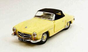 Mercedes 190s 1955 Jaune 1:43 Modèle Rio4370 Rio