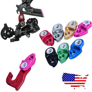US-MTB-Road-Bike-Rear-Extender-Gear-Adapter-Conversion-Derailleur-Hanger-Black