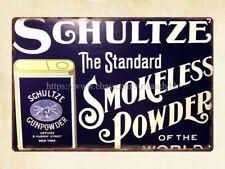 interior stylist infallible Smokeless Shotgun Powder metal tin sign