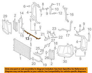 s l300 audi oem 17 18 q7 3 0l v6 radiator water pipe 4m0121070g ebay