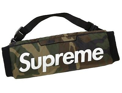 New Authentic Supreme Hand warmer Woodland Camo FW18 in hand FREE SHIPPING