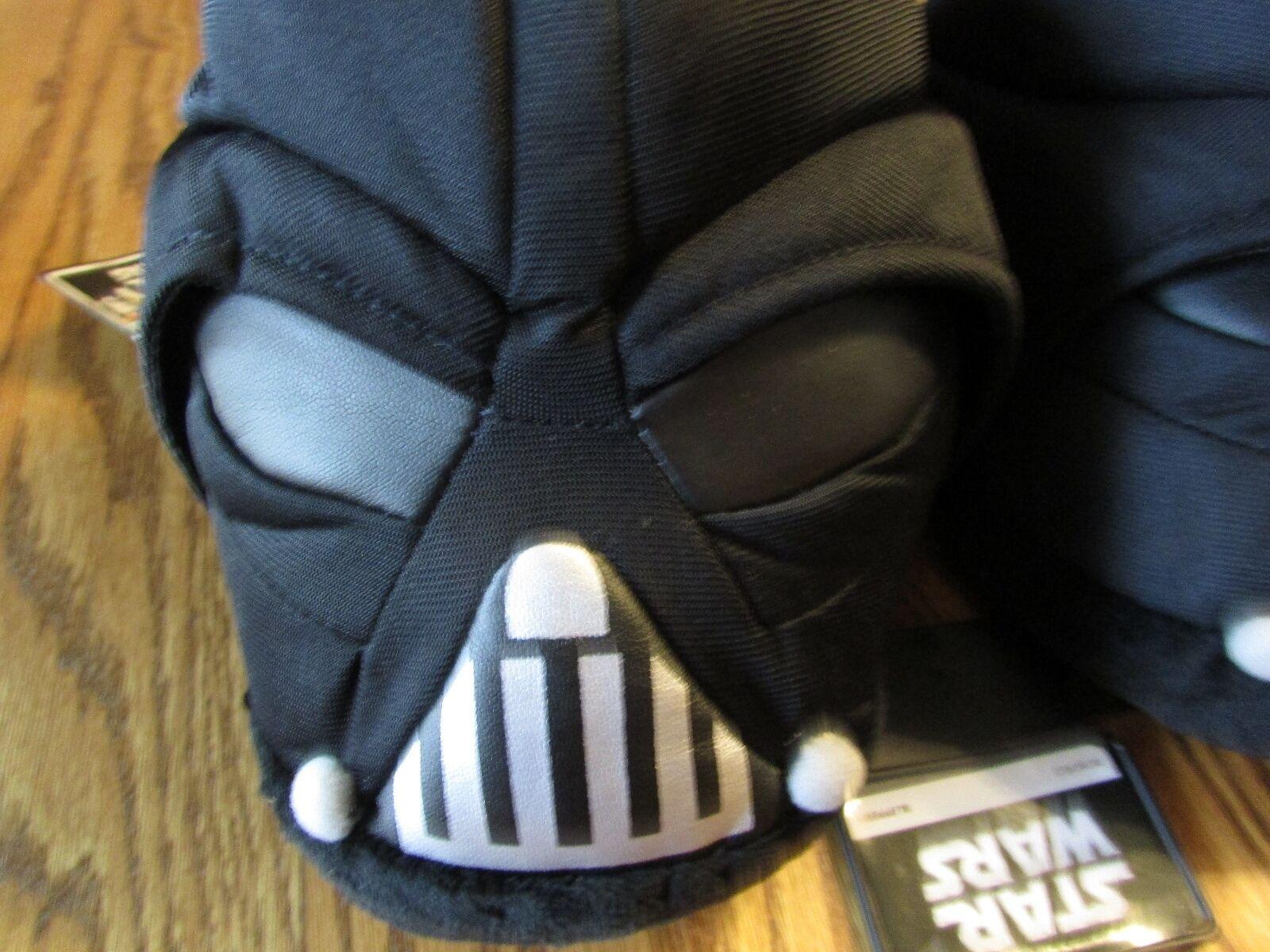 Star Wars DARTH VADER  Men's Plush SLIPPERS Size L, NWT $45