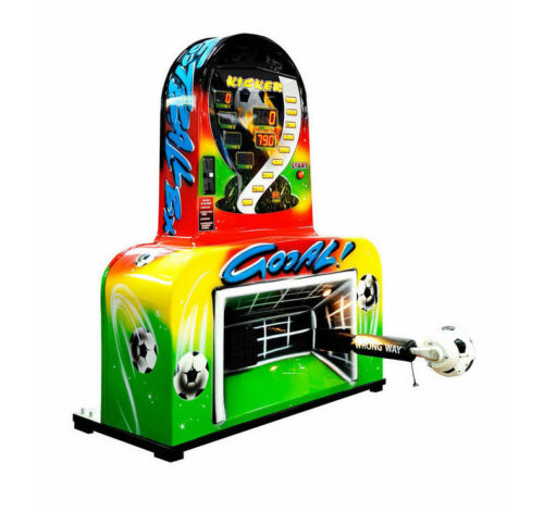 Schusskraftmesser Fußball Multispieler, wie Boxautomat, Surplus Power