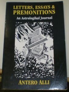 SIGNED-ANTERO-ALLI-FIRST-EDITION-LETTERS-ESSAYS-amp-PREMONITIONS-OCCULT
