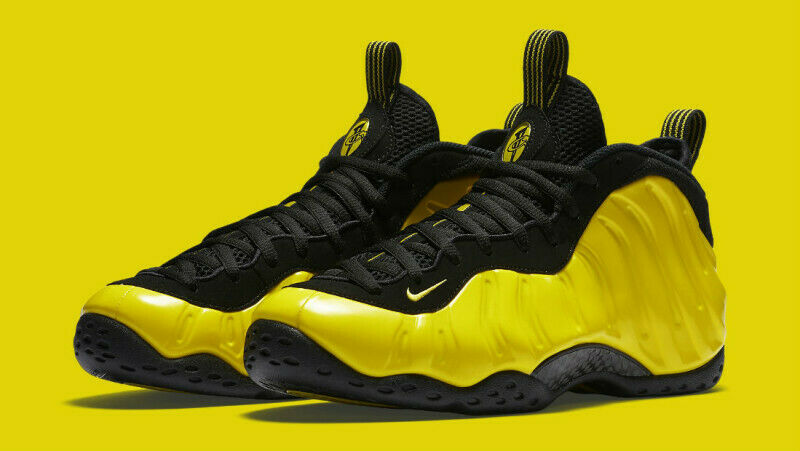Air Foamposite One Wu-Tang Men's Size 11 Opti Yellow Black Brand New 314996-706