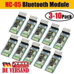 Details zu DE Arduino Raspberry Pi 4-Pin HC-05 Master/Slave Bluetooth Modul  RF Transceiver