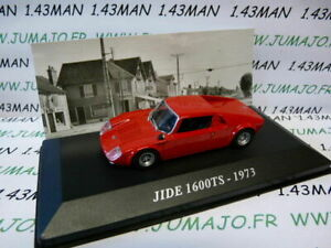 AUT22M-Voiture-1-43-IXO-altaya-Voitures-d-039-autrefois-JIDE-1600TS-1973
