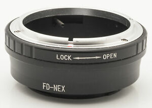FD-NEX-Lens-Mount-Adapter-Objektivadapter-Canon-FD-Objektive-an-Sony-NEX
