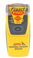 Mcmurdo Fast Find 220 Plb - Gps Personal Emergency Locator Beacon & Float Pouch