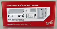 Herpa 083782 Meiller-Kippmulde für 8 4 LKW Inhalt 2 Stück Kipper