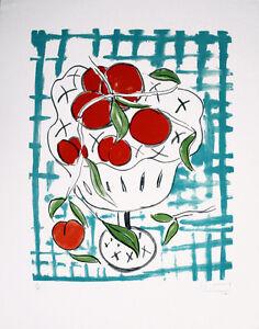 Stefan Szczesny-farblithographie-firmato a mano, Num. UK: 990 EURO