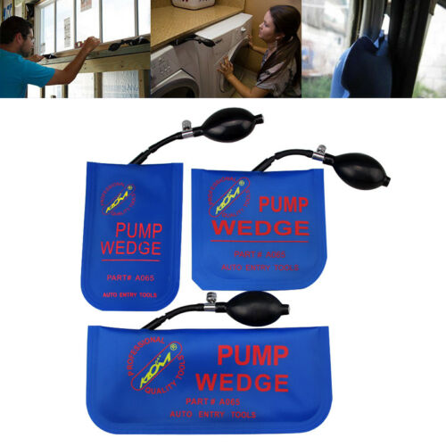 automotive Jack Air Pump Wedge Shim Bag Spreading Tool Align Door Leveling