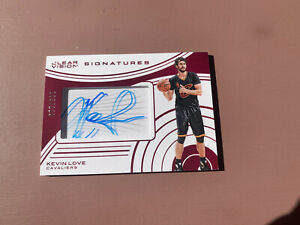 2015-16-Panini-Clear-Vision-Basketball-Kevin-Love-On-Card-Auto-119