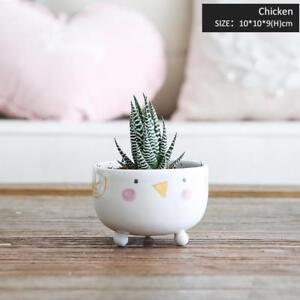 Ceramic Porcelain Animals Vase Cute Tabletop Modern High Quality Home Decoration