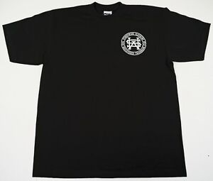 STREETWISE-MONOGRAM-T-shirt-Urban-Streetwear-Tee-Adult-Men-L-4XL-Black-NWT