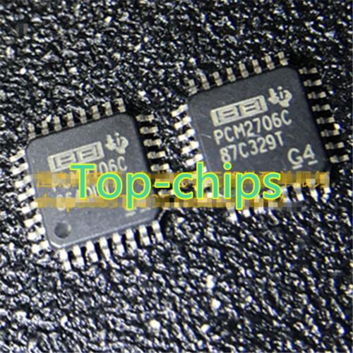 5PCS PCM2706 PCM2706PJTR PCM2706CPJT PCM2706C QFP32