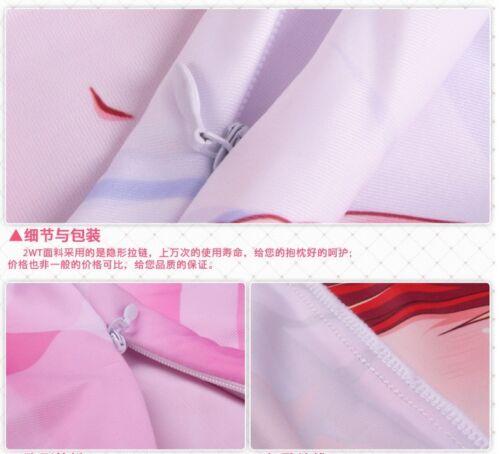 "150cm komeshiro kasu Kasako Anime Dakimakura PillowCase Long Cushion Cover 59/"""