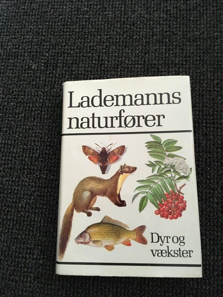 Lademanns naturfører, emne: dyr