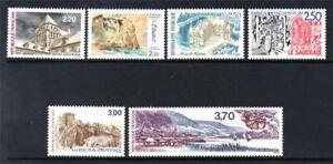 France Neuf Sans Charnière 1987 Sg2762-2767 Propagande Touristique-afficher Le Titre D'origine
