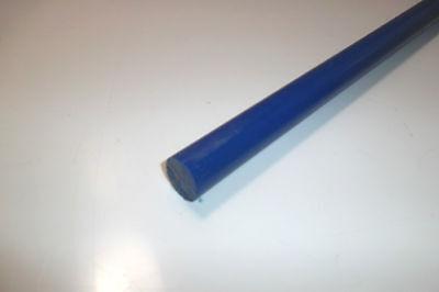8092) POM, Polyacetal, blau, Ø 20mm, Länge nach Bedarf