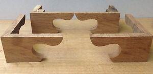 Oak Bracket Feet for Antique Longcase Clock, Beautiful Period Oak *UK Handmade*