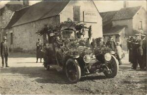 CPA carte photo MEZIERES-en-BRENNE Corso Fleuri 1925 (809672)