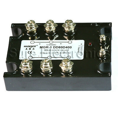 Solid State Relay SSR-1 DD60D400 400A/5-60VDC 3-32VDC