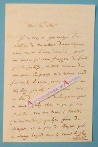 L-A-S-1843-Edouard-TIRQUETY-Poete-Rennes-Nantes-Poesie-Bibliographie-lettre