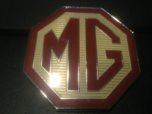 Mg TF DELANTERO O TRASERO rara Insignia MG de gran tamaño 70mm