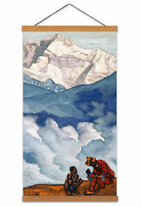 Roerich-Pearl-Of-Searching-Symbolist-Landscape-Painting-Canvas-Wall-Art-Print