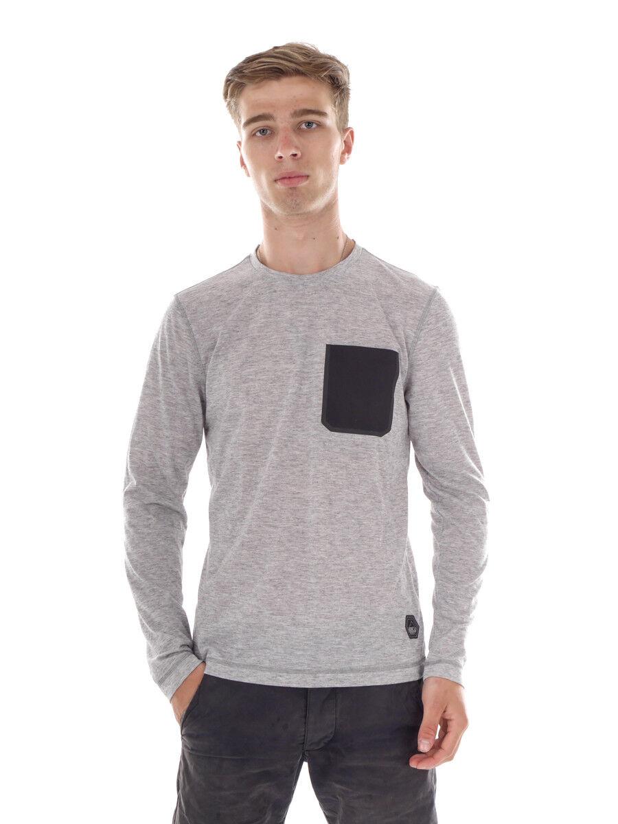 O`Neill Funktionsshirt Oberteil Jones Base grey Tasche atmungsakiv