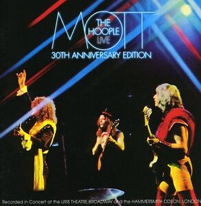Mott-the-Hoople-Live-30th-Anniversary-Edition-New-CD-Holland-Import