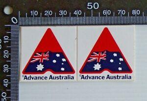 VINTAGE-ADVANCE-AUSTRALIA-AUSTRALIAN-FLAG-ADVERTISING-PROMO-STICKER