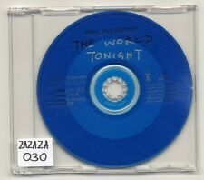 Paul McCartney CD The World Tonight - 1-track promo - CDRDJ 6472 - beatles solo