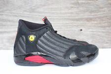 new arrival a1833 b35e3 item 6 Men s Nike Air Jordan 14 XIV Retro Last Shot Varsity Red Black Sz 12  487471-003 -Men s Nike Air Jordan 14 XIV Retro Last Shot Varsity Red Black  Sz 12 ...