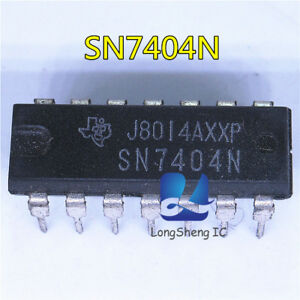10PCS SN7404N DIP-14 These Devices Contain Six Independent Inverters new