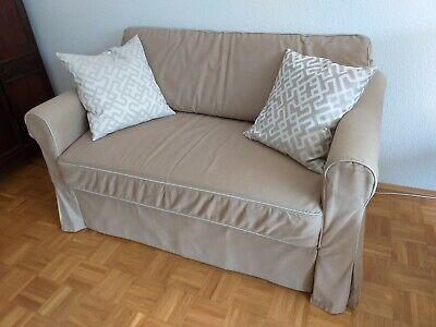 2er-Sofa mit Bettfunktion Ikea Hagalund | eBay