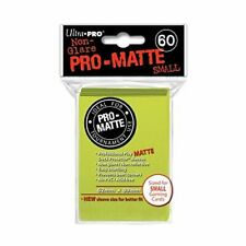 Ultra Pro Pro-Matte Small Size Deck Protector Sleeves 62 x 89mm Lime Green 60ct