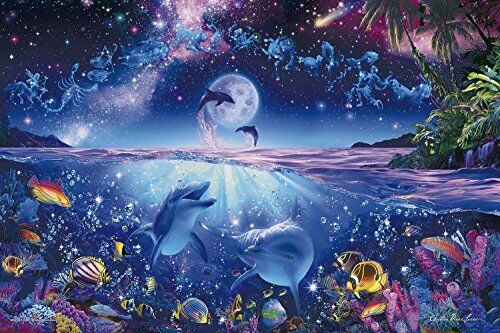 2016 piece Glow in the dark  jigsaw puzzle of Lassen star to the wishes