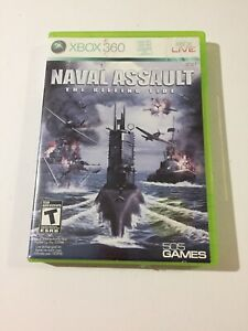 Naval-Assault-The-Killing-Tide-Microsoft-Xbox-360-2010-No-Manual-Tested