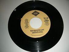 Precious Wilson - Nice Girls Don't Last PROMO  45 rpm Jive Records NM  1986