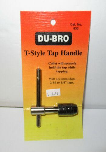 "DU-BRO T-Style Tap Handle #633 NIP Accommodate/'s 2-56-1//4/"" Taps"