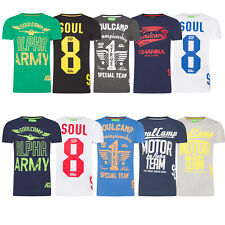 Soulcamp Herren T-Shirt Super Tee Shirt Dry Rundhalsausschnitt Print