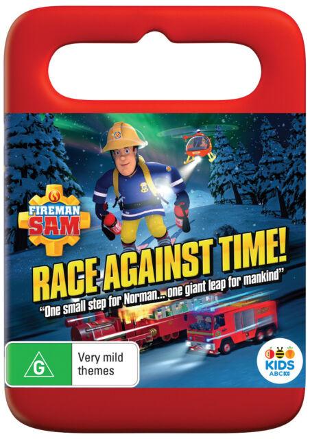 Fireman Sam - Race Against Time (DVD, 2018) R4